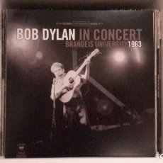 Discos de vinilo: BOB DYLAN - IN CONCERT 1963. Lote 210783669