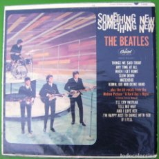 Discos de vinilo: THE BEATLES SOMETHING NEWS (CAPITOL, 1964). Lote 210784421