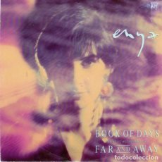 Discos de vinilo: ENYA – BOOK OF DAYS - SINGLE GERMANY 1992. Lote 210785131