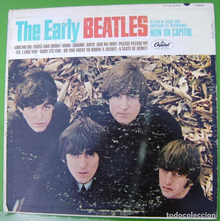 THE BEATLES, THE EARLY BEATLES (CAPITOL, 1964) (Música - Discos - LP Vinilo - Pop - Rock Extranjero de los 50 y 60)