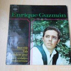 Disques de vinyle: ENRIQUE GUZMÁN, EP, BUEN VIAJE + 3, AÑO 1964. Lote 210785642