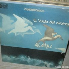 Discos de vinilo: ALCATRAZ - VUELO DEL ALCATRAZ - LP 1976 - CANARIOS-POP TOPS-BARRABAS-SOUL CELTIBERICO. Lote 210786887