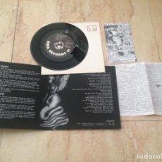 Discos de vinilo: ANTISGAMMO / CONCRETE - SPLIT-PUNK ROCK HARDCORE-ITALIA-1997-BIBA RECORDS-COMPLETO. Lote 210787061