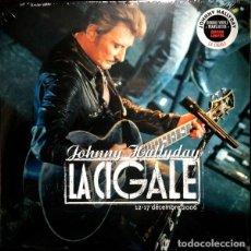 Discos de vinilo: JOHNNY HALLYDAY LA CIGALE - 12-17 DÉCEMBRE 2006 EDICIÓN LIMITADA. Lote 210786496