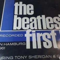 Discos de vinilo: THE BEATLES FIRST RECORDER IN HAMBURG 1961. Lote 210789237