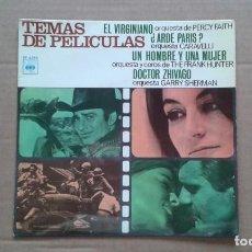 Discos de vinilo: TEMAS DE PELICULA EP 4 TEMAS 1967 EDICION ESPAÑOLA. Lote 210793080
