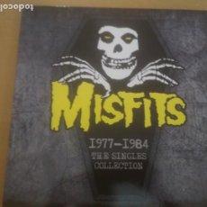 Discos de vinilo: MISFITS THE SINGLES COLLECTION 1977-1984 LP INSERTO. Lote 210793536