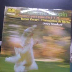 Discos de vinilo: CHOPIN CONCIERTO PIANO N1. Lote 210794487