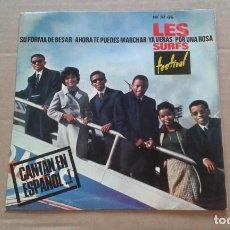 Dischi in vinile: LES SURFS - SU FORMA DE BESAR EP 4 TEMAS 1964. Lote 210794529