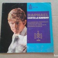 Discos de vinilo: RAPHAEL - CANTA LA NAVIDAD EP 4 TEMAS 1965. Lote 210794607