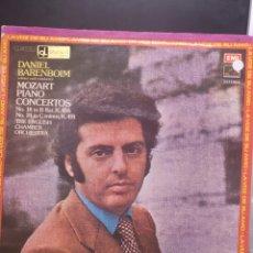 Discos de vinilo: MOZART BARENBOIM. Lote 210794769