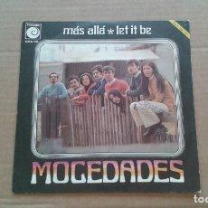 Discos de vinilo: MOCEDADES - MAS ALLA SINGLE 1970. Lote 210795039