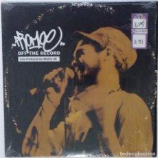 "Discos de vinilo: PROMOE - OFF THE RECORD [SUECIA HIP HOP / RAP EXCLUSIVO ORIGINAL] SFDK [ MX 12"" 33RPM ][1999]. Lote 210796255"