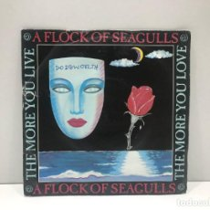 Discos de vinilo: A FLOCK OF SEAGULLS - THE MORE YOU LIVE THE MORE YOU LOVE / LOST CONTROL - SINGLE 1984. Lote 210797380