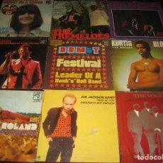 Discos de vinilo: GRAN LOTE DE 162 SINGLES Y EPS - VER FOTOS - ENVIO GRATIS. Lote 210797510