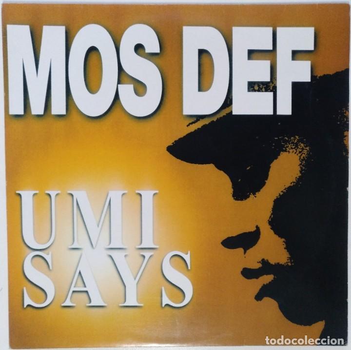 """MOS DEF - UMI SAYS [US HIP HOP / RAP EXCLUSIVO ORIGINAL] RAWKUS [MX 12"""" 33RPM ][2000] (Música - Discos de Vinilo - Maxi Singles - Rap / Hip Hop)"""