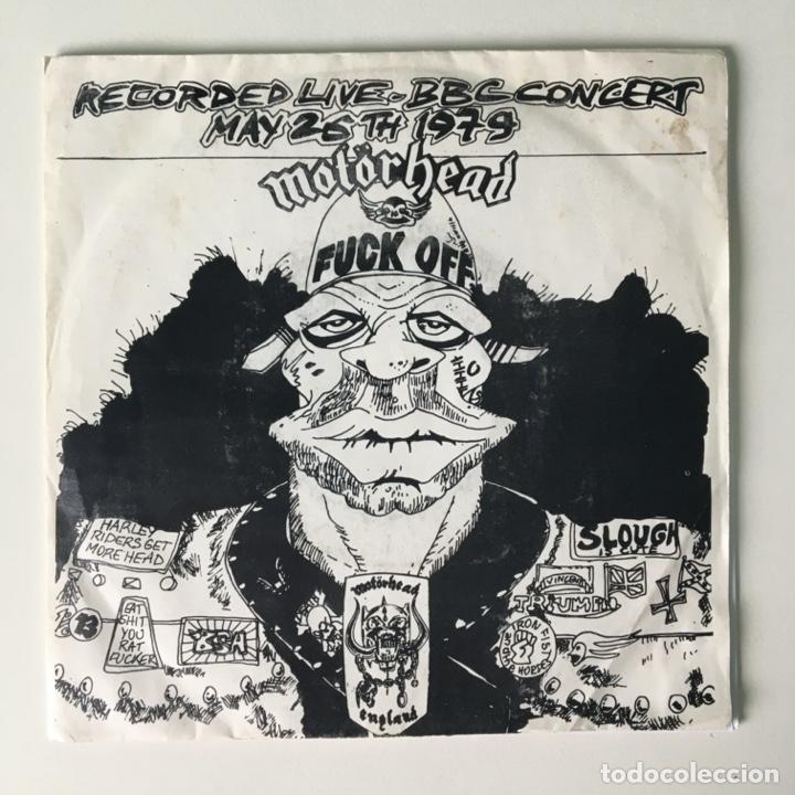 MOTÖRHEAD ?– FUCK OFF, E.F.OX556, UK 1979 WOLF PRODUCTION (Música - Discos de Vinilo - EPs - Heavy - Metal)