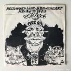 Discos de vinilo: MOTÖRHEAD – FUCK OFF, E.F.OX556, UK 1979 WOLF PRODUCTION. Lote 210799369