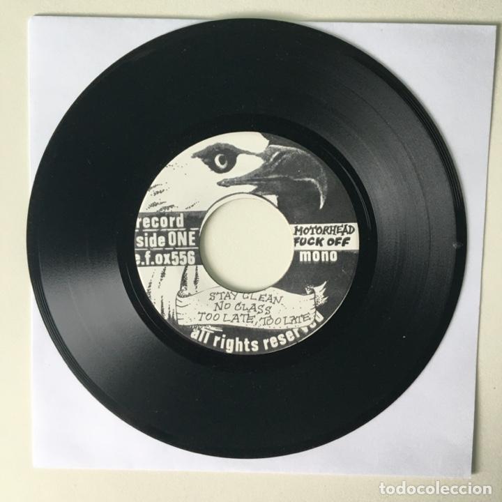 Discos de vinilo: Motörhead ?– Fuck Off, e.f.ox556, UK 1979 Wolf Production - Foto 3 - 210799369