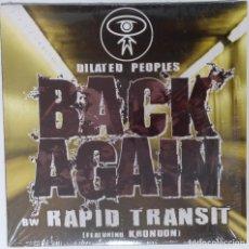"Discos de vinilo: DILATED PEOPLES - BACK AGAIN / RAPID TRAN [US HIP HOP / RAP EXCLUSIVO ORIGINAL][MX 12"" 33RPM ][2005]. Lote 210799579"