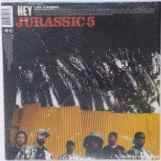 "Discos de vinilo: JURASSIC 5 - HEY / IF YOU ONLY KNEW [US HIP HOP / RAP EXCLUSIVO ORIGINAL][MX 12"" 33RPM ][2004]. Lote 210799891"