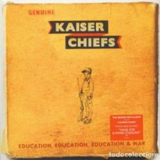 "Discos de vinilo: LP + 7"" KAISER CHIEFS ‎– EDUCATION, EDUCATION, EDUCATION & WAR - SPV EDUCATE03 - 2014 - NUEVO !!. Lote 210800756"