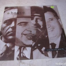 Discos de vinilo: A HOUSE - I WANT TOO MUCH LP - BLANCO Y NEGRO GERMANY 1990. Lote 210805207