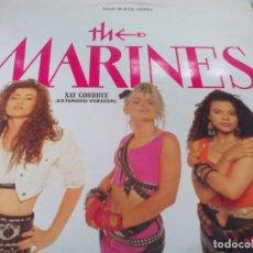 Discos de vinilo: MX. THE MARINES - SAY GOODBIE (EXTENDED VERSIÓN). Lote 210811057