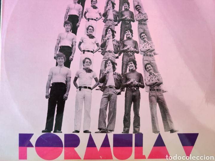 DISCO VINILO LP - FÓRMULA V - ¡ADELANTE! (PHILIPS, 1970) (Música - Discos - LP Vinilo - Grupos Españoles de los 70 y 80)