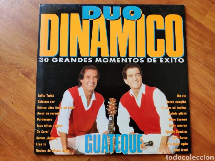 DUO DINÁMICO - GUATEQUE (CBS, 1990) (Música - Discos - LP Vinilo - Grupos Españoles de los 70 y 80)