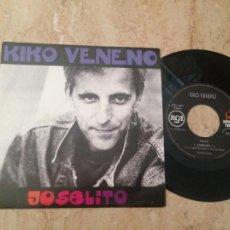 Discos de vinilo: KIKO VENENO - JOSELITO / SUPERHEROES DE BARRIO - RCA 1992-PROMO-EMISORA DE RADIO. Lote 210811451