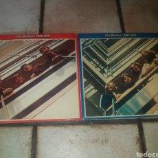 """Discos de vinilo: LOTE 2 DOBLES ÁLBUMES THE BEATLES """"ROJO Y AZUL"""" (1962-1966 Y 1967-1970). Lote 210811486"""