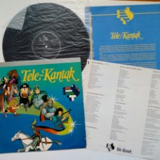 Discos de vinilo: TELE-KANTAK (EKHI / XOXOA, 1984) SINTONIAS DIBUJOS ANIMADOS ETB - IÑAKI SALVADOR, ANDRZEY MISKIEWICZ. Lote 210811216