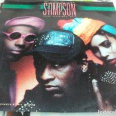 Discos de vinilo: MX. P.M. SAMPSON - WE LOVE TO LOVE. Lote 210816202