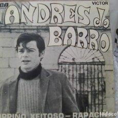Discos de vinilo: ANDRÉ DO BARRO - CORPIÑO XEITOSO + RAPACIÑA (RCA, 1970) - PRODUCE JUAN PARDO -. Lote 210818189