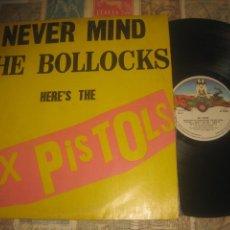 Discos de vinilo: SEX PISTOLS MIND THE BOLLOCKS HERE'S THE SEX PISTOLS ( VIRGIN 1977) OG ESPAÑA. Lote 210818541
