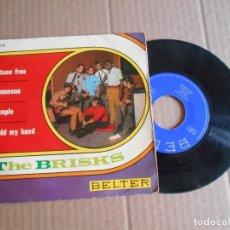 Discos de vinilo: VINILO SINGLE AÑOS 60 DE THE BRISKS AÑO 1968. Lote 210818680