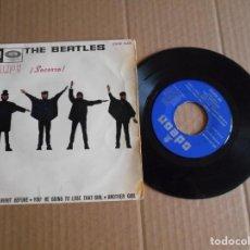 Discos de vinilo: VINILO SINGLE DE THE BEATLES HELP 1965. Lote 210819012