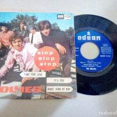 Discos de vinilo: T-92.-DISCO EP.- THE HOLLIES.- STOP, STOP, STOP, Y 3 CANCIONES MAS, ODEON.- 1966.-. Lote 210821364