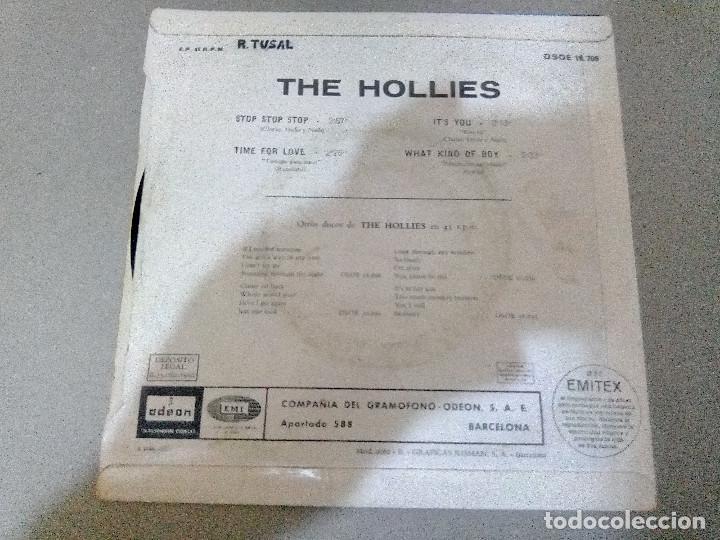 Discos de vinilo: T-92.-DISCO EP.- THE HOLLIES.- STOP, STOP, STOP, Y 3 CANCIONES MAS, ODEON.- 1966.- - Foto 2 - 210821364