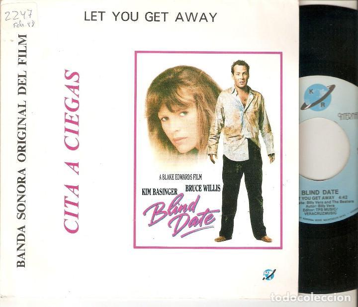 "BILLY VERA AND THE BEATERS 7"" SPAIN 45 BLIND DATE CITA A CIEGAS SINGLE VINILO 1987 KIM BASINGER BSO (Música - Discos - Singles Vinilo - Bandas Sonoras y Actores)"