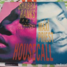 Discos de vinilo: MX. SHABBA RANKS - HOUSECALL. Lote 210823776