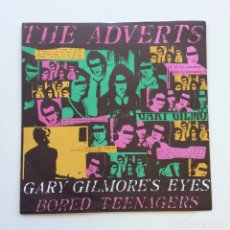 Discos de vinilo: THE ADVERTS ?– GARY GILMORE'S EYES / BORED TEENAGERS UK 1977 ANCHOR. Lote 210824247
