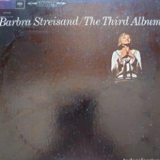Discos de vinilo: BARBARA STREISAND LP SELLO CBS EDITADO EN USA THE THIRD ÁLBUM.. Lote 210826609