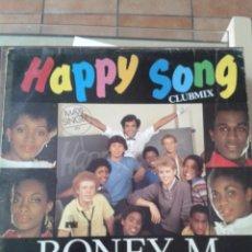 Discos de vinilo: BONEY M. HAPPY SONG. MAXI SINGLE. Lote 210826872