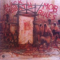 Discos de vinilo: BLACK SABBATH – MOB RULES -LP-. Lote 228395190