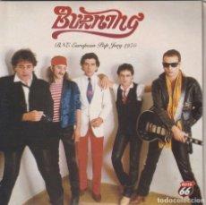 Discos de vinilo: BURNING - EUROPEAN POP JURY 1975 (DOBLE SINGLE GATEFOLD 2004). Lote 210829799