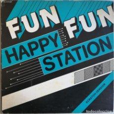Discos de vinilo: FUN FUN – HAPPY STATION (SCRATCH VERSION), CFE – ME-55002. Lote 210831895