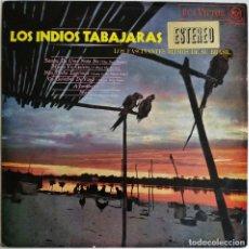 Disques de vinyle: LOS INDIOS TABAJARAS-LOS RITMOS FASCINANTES DE SU BRASIL, RCA VICTOR-LSP-3905. Lote 210832524