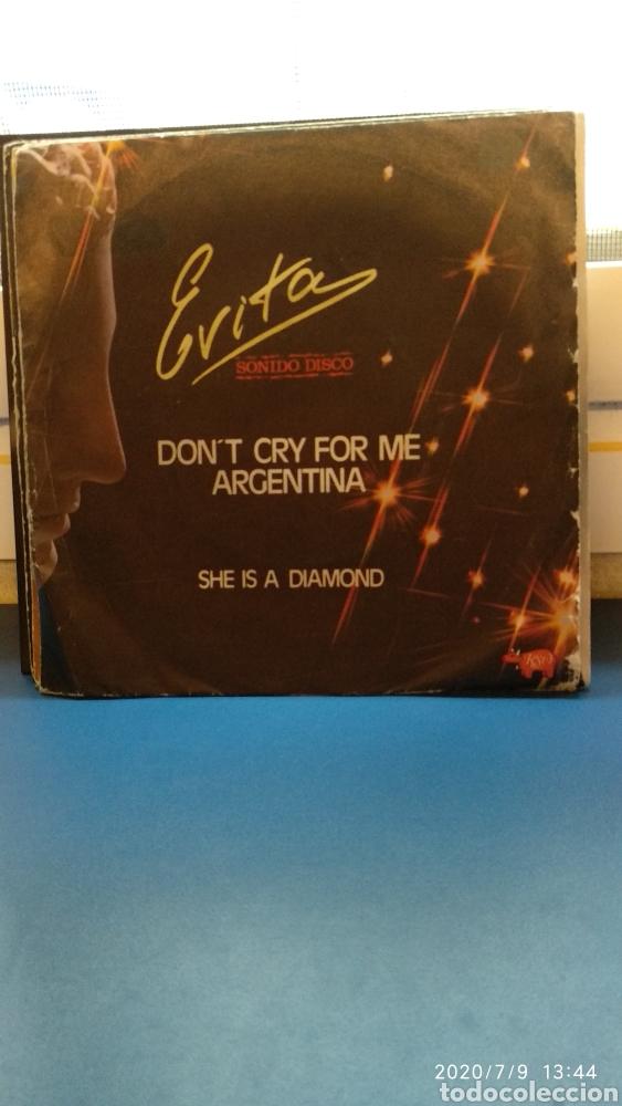 EVITA,SONIDO DISCO (Música - Discos - Singles Vinilo - Disco y Dance)